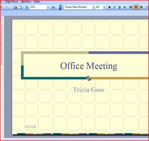 Cómo mover a las diapositivas en una presentación de Power Point