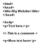 Cómo incluir comentarios en Página web de código HTML