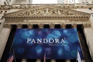 ¿Se puede utilizar Su Radio Pandora en su equipo de música?
