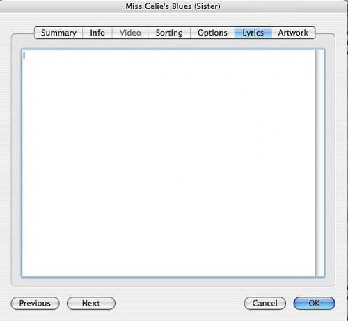 Cómo agregar Letras a tu iTunes y canciones del iPod