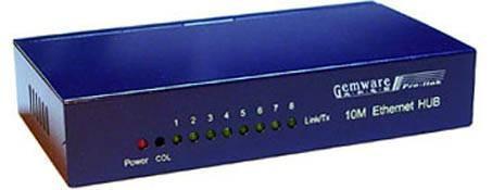 Sobre Interruptores Vs concentradores para redes domésticas
