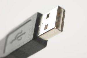 Cómo hacer un cable USB en un puerto de serie