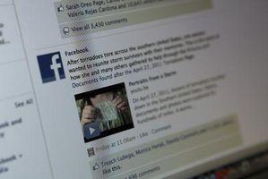 Cómo hacer que las palabras con la etiqueta de imágenes en un perfil de Facebook