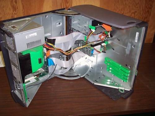 Cómo reemplazar una unidad de disco duro en un Dell equipo de torre