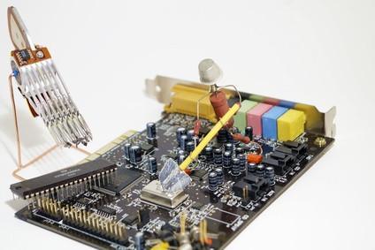 Cómo reparar un dispositivo de sonido