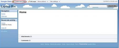 Cómo crear una página web en Windows XP