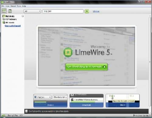 Cómo configurar un servidor proxy para el LimeWire