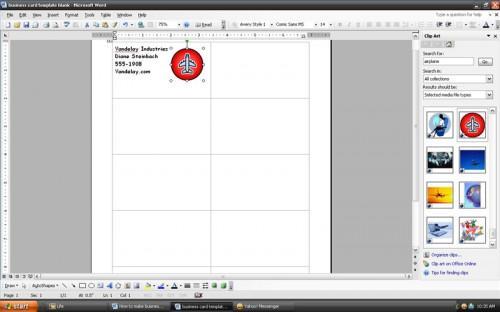Cómo hacer tarjetas de presentación con Microsoft Word