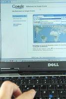 Cómo configurar una página de inicio por defecto Página Web