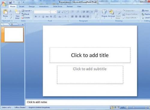 Cómo hacer Título diapositivas para presentaciones de diapositivas