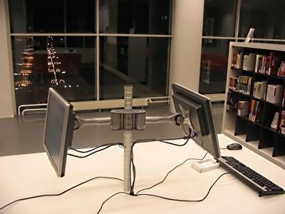 Cómo configurar el equipo para obtener un protector de pantalla de dos monitores