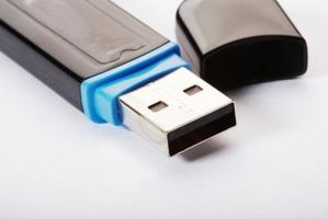 Cómo hacer una unidad flash USB aparecerá como una unidad de disco duro