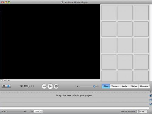 Cómo hacer una película con una cámara iSight