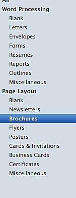 Cómo crear un folleto con Apple Pages '09