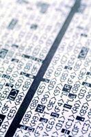 Enumerar los tipos de datos utilizados en la declaración de variables
