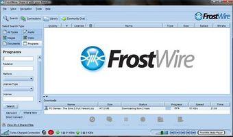 Cómo descargar juegos apagado de Frostwire