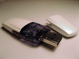 Cómo agregar una lectura / escritura del interruptor en una unidad flash