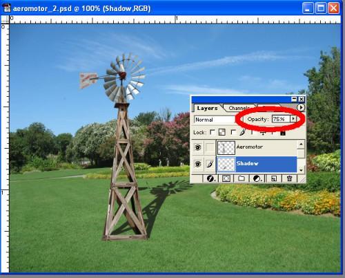 Cómo hacer una sombra realista en Photoshop