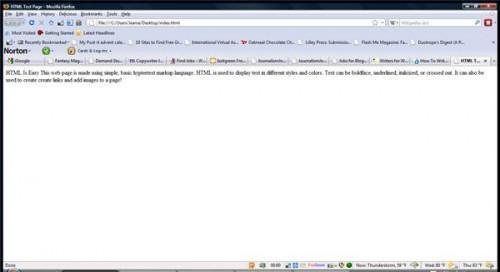 Cómo escribir las páginas Web HTML