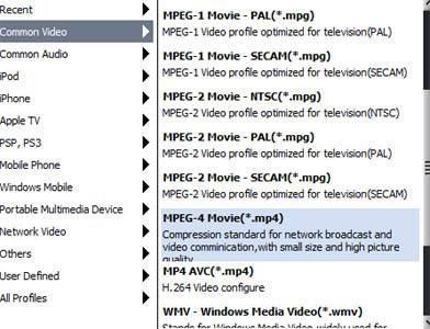 Cómo convertir AVCHD a MPEG4