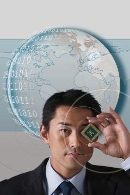 Cómo comparar un Pentium 4 3,06 a un Core 2 Duo