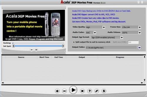 Cómo convertir un archivo MPEG4 a una 3GP