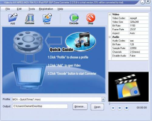 Cómo convertir Flash Video a MOV
