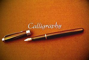 Cómo crear una fuente de la caligrafía