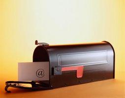 Cómo crear una dirección general de correo electrónico