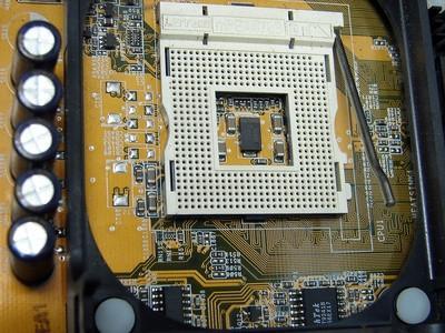 Cómo quitar el procesador Desde una placa principal de Intel D845GVSR
