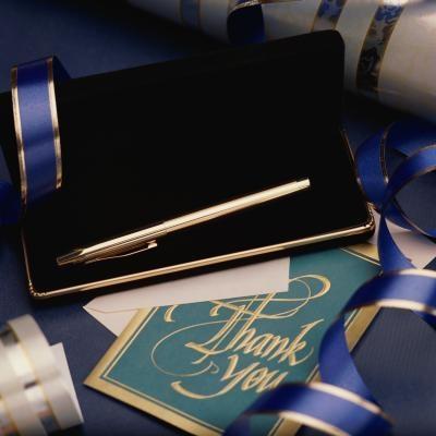 Cómo subir una foto de una tarjeta de agradecimiento