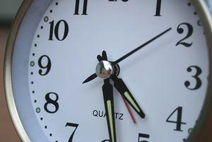 Cómo calcular el tiempo y Horas