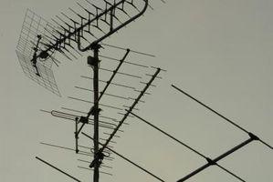 Cómo utilizar una antena Yagi