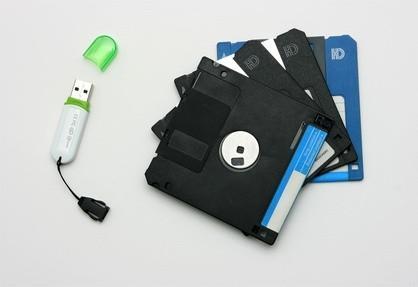 Diferentes tipos de dispositivos de almacenamiento