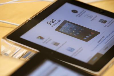 Carga de la iPad en modo Sleep
