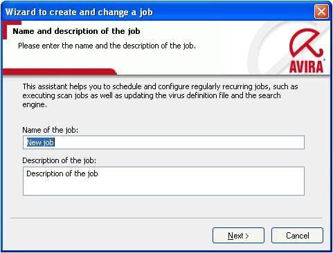 Cómo configurar las opciones de Avira para actualizar