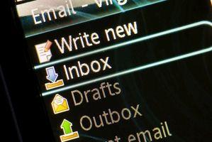 Cómo direcciones de correo electrónico de copia de seguridad