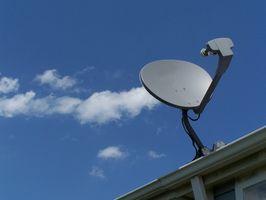 Cómo medir el retardo de enlace ascendente en un satélite