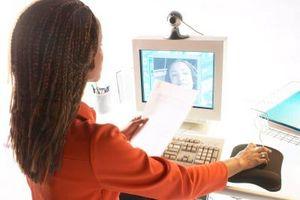 Cómo utilizar la cámara web para video chat