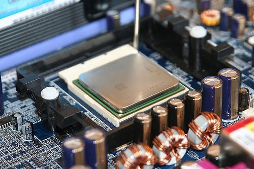 ¿Cuál es el ventilador del procesador en una CPU?