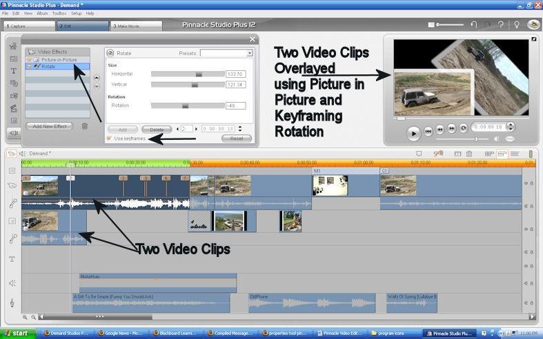 Pinnacle Consejos de edición de vídeo / Seabrookewindows.com