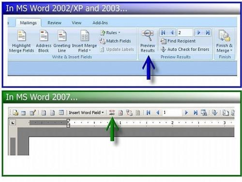 Cómo dar formato a fechas y números en un formato MS Word Combinar correo