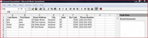 Cómo hacer una hoja de cálculo con tareas de Ventanas
