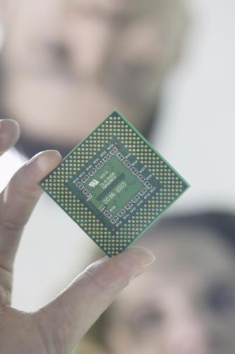 Lo que utiliza un chip de CPU?