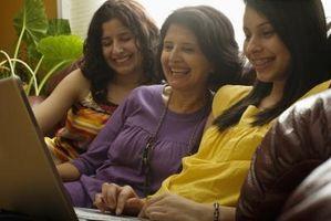 Consejos de etiqueta medios de comunicación social para las madres