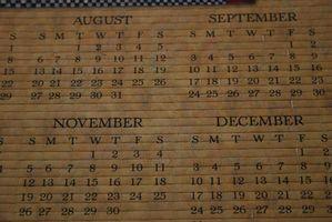 Cómo crear un calendario de Excel para el año bisiesto