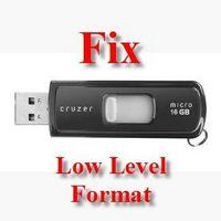 Cómo reparar una unidad flash USB con formato de bajo nivel