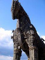 ¿Cómo se transmite un caballo de Troya?