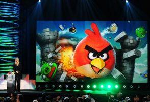 """""""Angry Birds"""" Tamaños de la textura"""