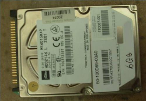 Datos de unidad de disco duro